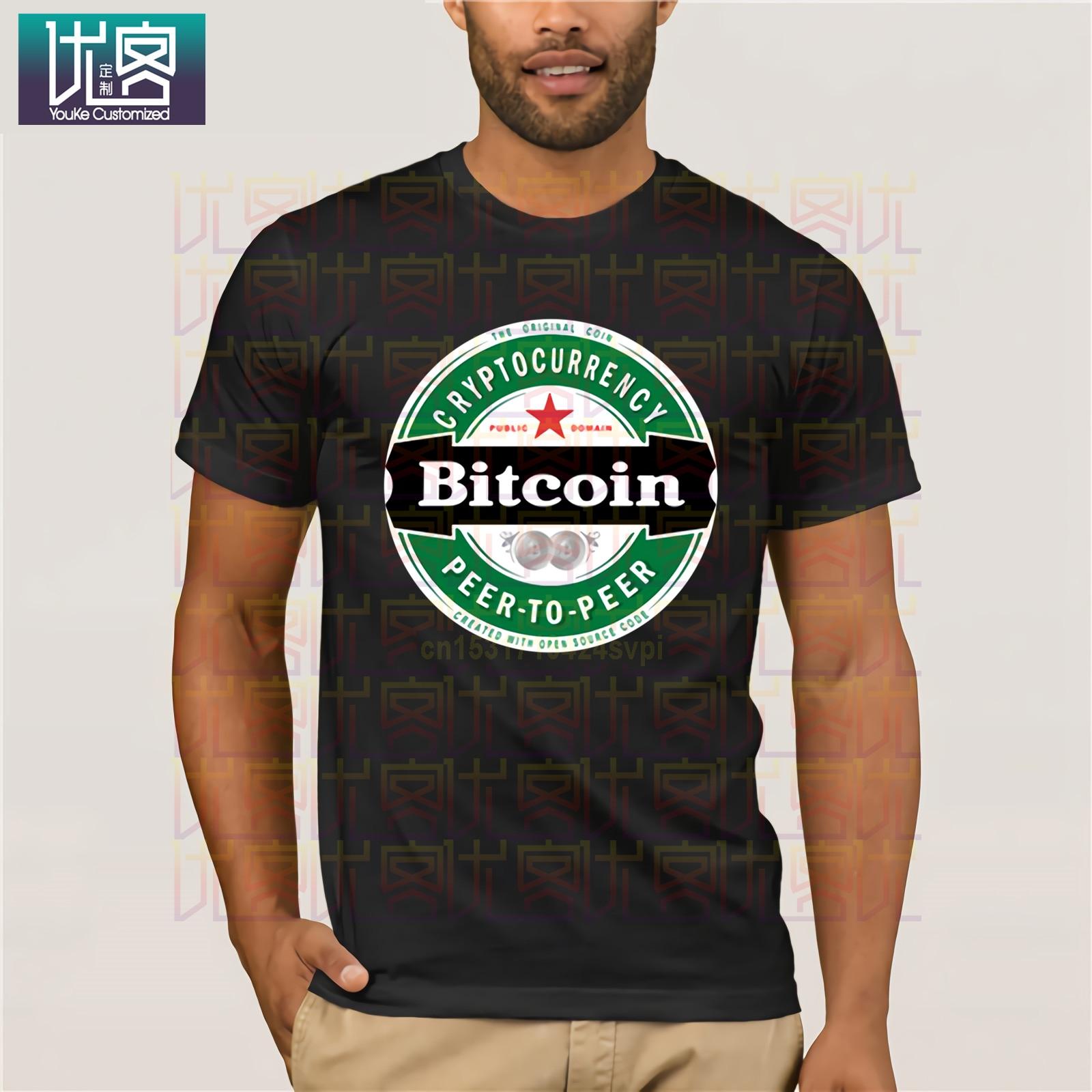 mining la linea di t-shirt per veri minatori di Bitcoin